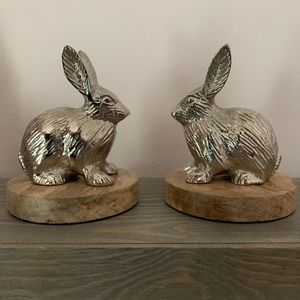Matching Rabbit Bookends